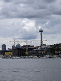Union Lake and Seattle cityscape Royalty Free Stock Photography