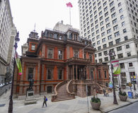 The Union League of Philadelphia - beautiful building - PHILADELPHIA - PENNSYLVANIA - APRIL 6, 2017. The Union League of Philadelphia - beautiful building Stock Photo