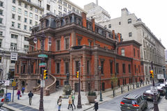 The Union League of Philadelphia - beautiful building - PHILADELPHIA - PENNSYLVANIA - APRIL 6, 2017. The Union League of Philadelphia - beautiful building Royalty Free Stock Image