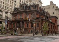 The Union Leaque of Philadelphia, built in 1865, located on Broad Street in Center City, Philadelphia, Pennsylvania stock image