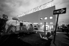 Union Market DC stock photography