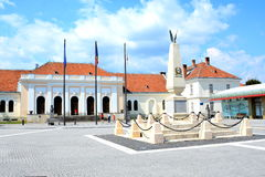 The Union Museum in the fortress of  Alba Iulia, Transylvania Royalty Free Stock Photos