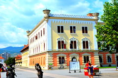 Union Museum in the fortress of  Alba Iulia, Transylvania Royalty Free Stock Image