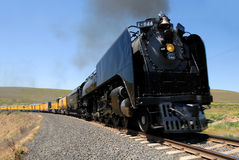 Union Pacific 844, Live Steam Engine Stock Image