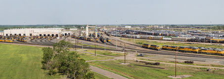 Union Pacific Bailey rail yard Stock Photo