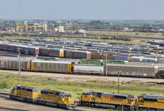 Union Pacific Bailey rail yard Royalty Free Stock Photo
