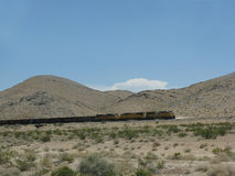 Union Pacific railroad. Utah, USA Royalty Free Stock Images