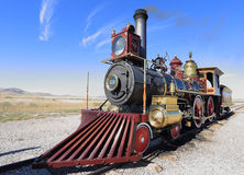 Union Pacific Steam Engine Stock Image