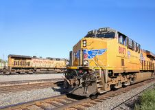 Free Union Pacific Trains Royalty Free Stock Images - 131064069