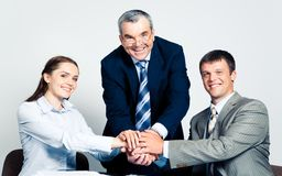 Union of partners Stock Images
