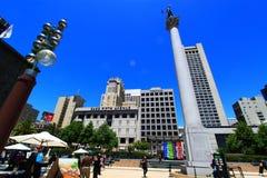 Union San Francisco carrée Photographie stock
