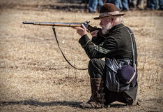 Union Sharpshooter Royalty Free Stock Photography