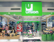 Union shop in hong kong Royalty Free Stock Photography