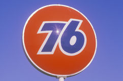 Union 76 sign Stock Image
