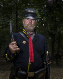 Union Soldier in Gettysburg Stock Image