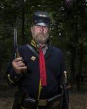 Union Soldier in Gettysburg Stock Image
