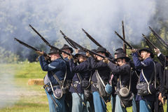 Union Soldiers from the American Civil War Stock Photo