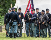 Union  Soldiers Stock Photography