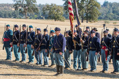 Union Soldiers Stock Photo