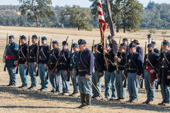 Union Soldiers Stock Image
