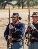 Union Soldiers Royalty Free Stock Photography