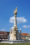 Union sqare statue. Timisoara romania union sqare statue piata unirii Royalty Free Stock Photos