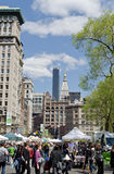 Union Square. New York City Union Square royalty free stock image