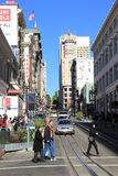 Union Square. Neighborhood in San Francisco, CA Stock Photos