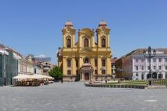 Union square, city of Timisoara, Romania Stock Photos