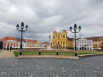 Union Square dans Timisoara, Roumanie Photo stock