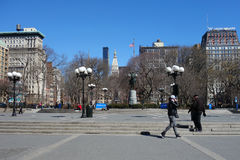 Union Square in New York City Royalty Free Stock Photos