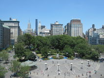Union Square during July 4th Weekend, New York. Royalty Free Stock Images