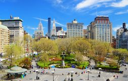 Union Square New York City Stock Photography