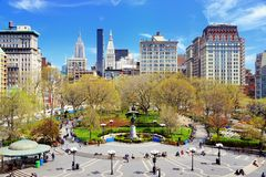 Union Square New York City Royalty Free Stock Photography