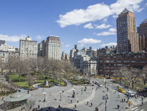 Union Square, New York. View from above Stock Image