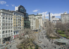 Union Square, New York Royalty Free Stock Image
