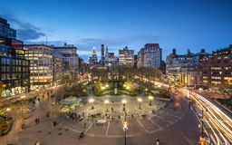 Union Square NYC Royalty Free Stock Photos