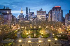 Union Square NYC Royalty Free Stock Photography