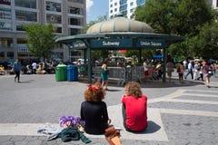 Union Square NYC Stock Photo