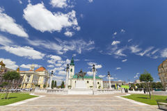 Union square - Oradea, Romania Royalty Free Stock Photos