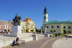 Union Square in Oradea, Romania. Stock Photography
