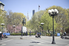 Union Square Park Royalty Free Stock Photos