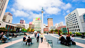 Union Square San Francisco Royalty Free Stock Photo