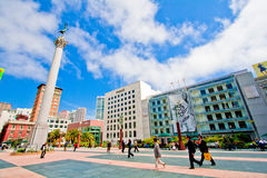 Union Square San Francisco Stock Photography