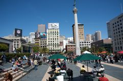 Union Square San Francisco Stock Photos
