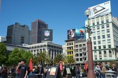 Union Square San Francisco Stock Images