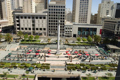 Union Square San Francisco Royalty Free Stock Photos