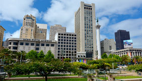 Union Square in San Francisco, CA Royalty Free Stock Photo