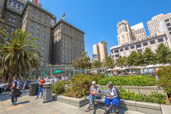 Union Square San Francisco Royalty Free Stock Images