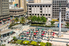 Union Square in San Francisco Stock Image